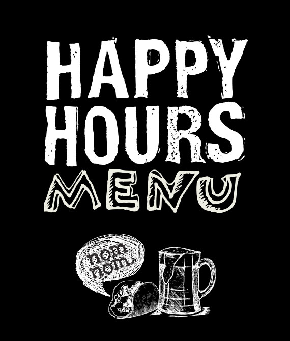 Happy Hours Menu