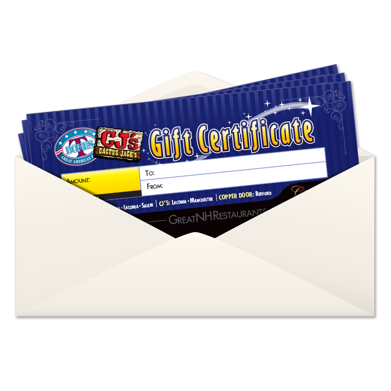 Mail a Gift Certificate